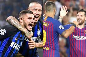 مشاهدة مباراة برشلونة وانتر ميلان بث مباشر اليوم
