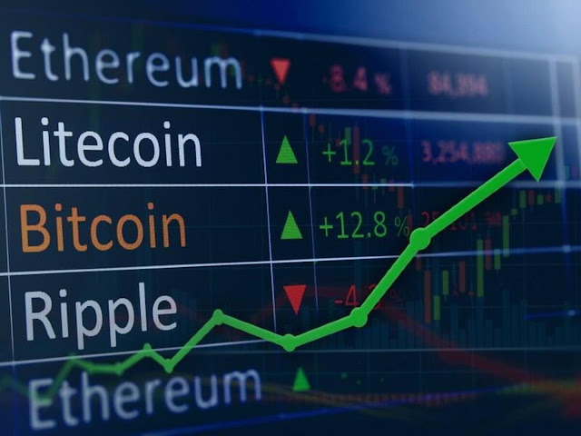 Cryptocurrency market - coin prices