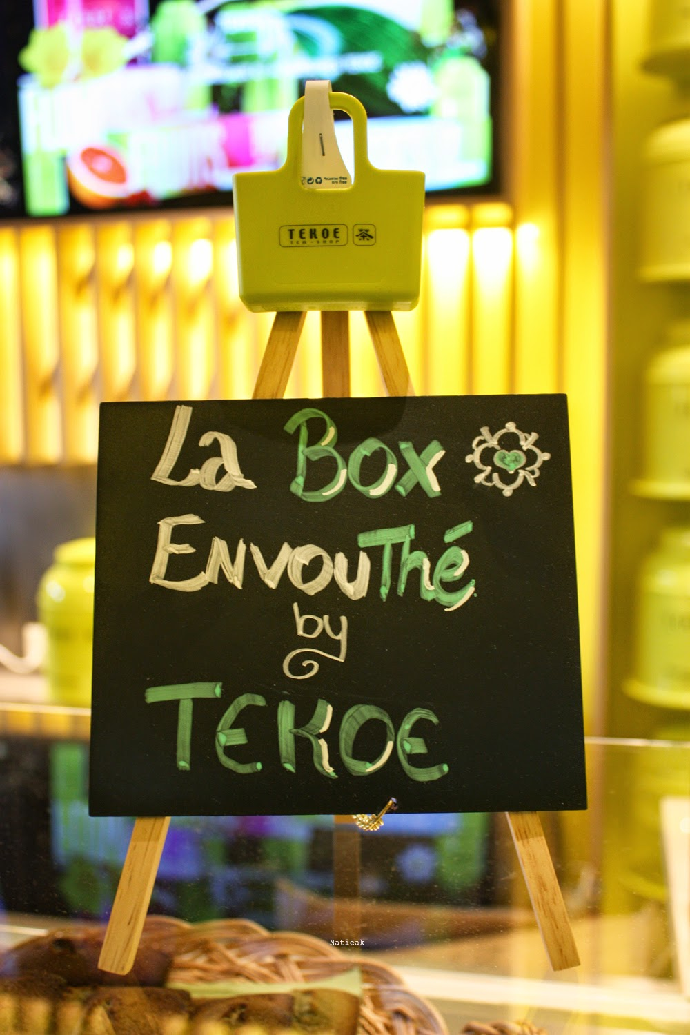 box avril 2015  boutique Gare de Lyon de Paris