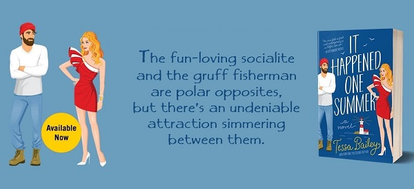 The fun-loving socialite and the gruff fisherman are polar opposites, but there's an undeniable attraction simmering between them.
