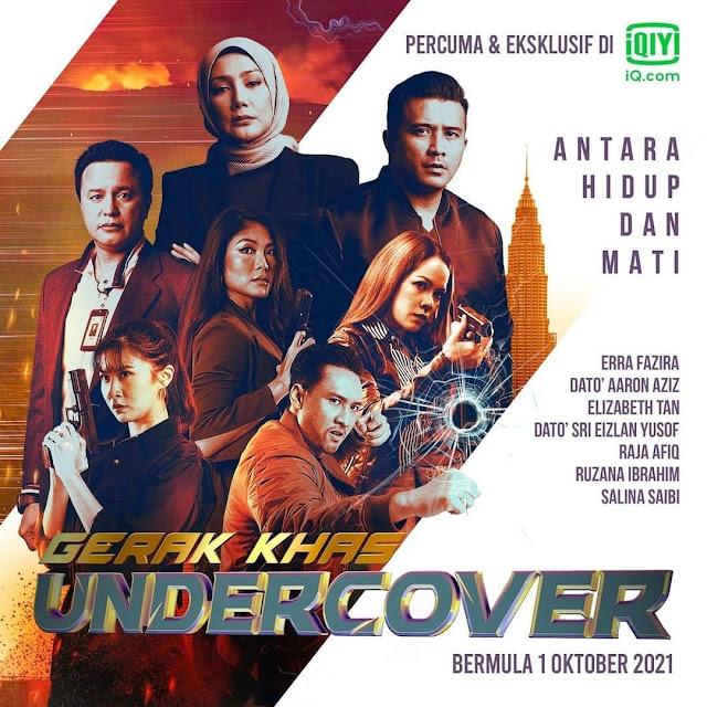 Tonton Gerak Khas Undercover Di TV3 & iQIYI Malaysia
