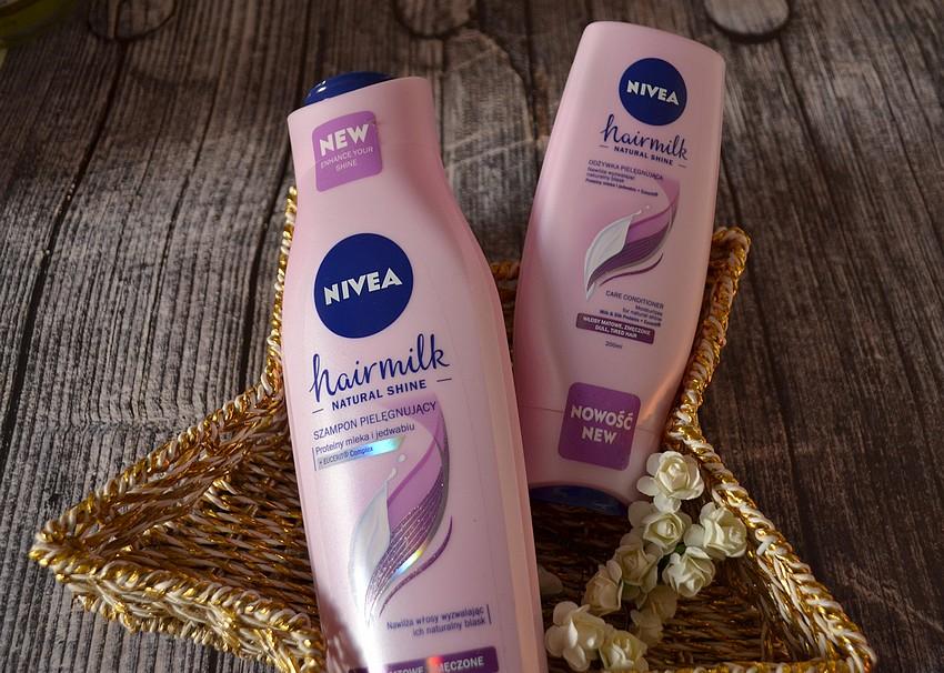 Nivea Hairmilk natural shine włosy zmęczone i matowe