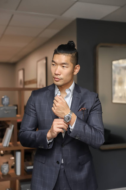 Leo Chan visits Watchfinder & Co NYC Showroom