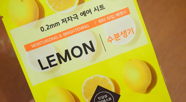VERA SITOMPUL - Etude House 0.2 Therapy Air Mask LEMON