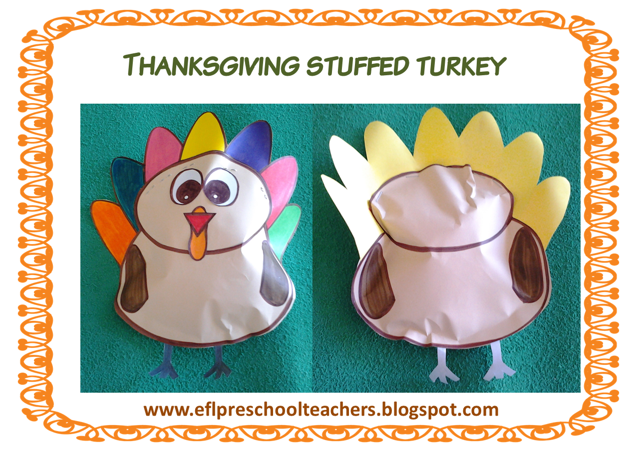 ESL/EFL Preschool Teachers: Thanksgiving 4th edition
