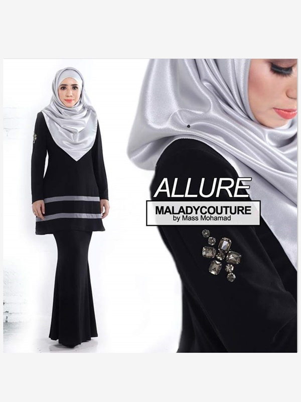 KURUNG MODERN ALLURE PLUSSIZE - SOLD OUT