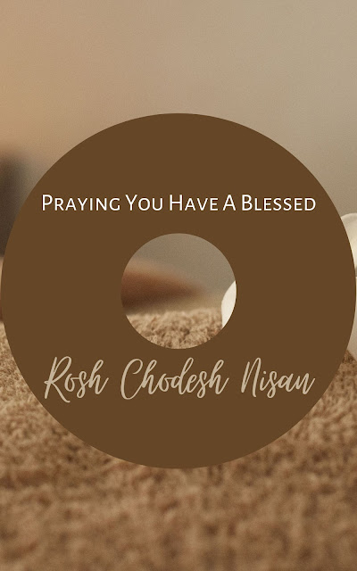Happy Rosh Chodesh Nisan Greeting Card | 10 Free Modern Cards | Happy New Month | First Jewish Month