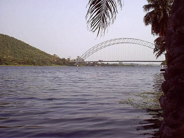 Rio Volta na África