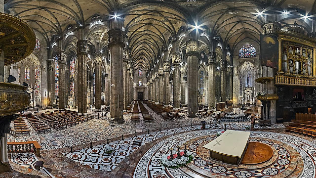 Milan Cathedral, interior - (Photo © Pietro Madasch / Duomo di Milano)