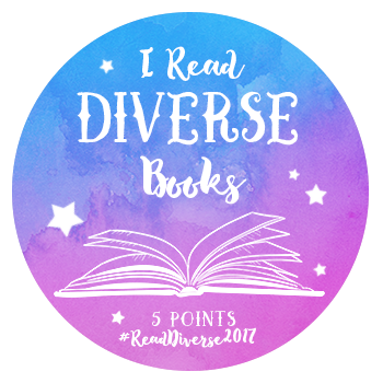 I Read Diverse Books 5 points badge