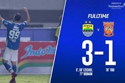 Persib Bandung vs Borneo FC 3-1 Video Gol & Highlights