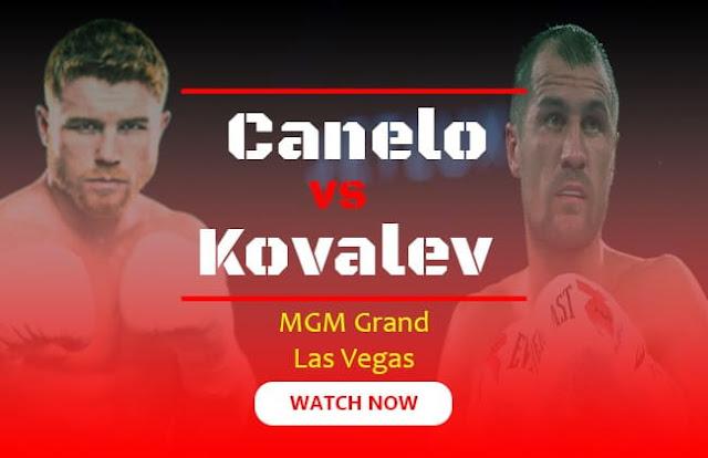 Canelo vs Kovalev Live Stream