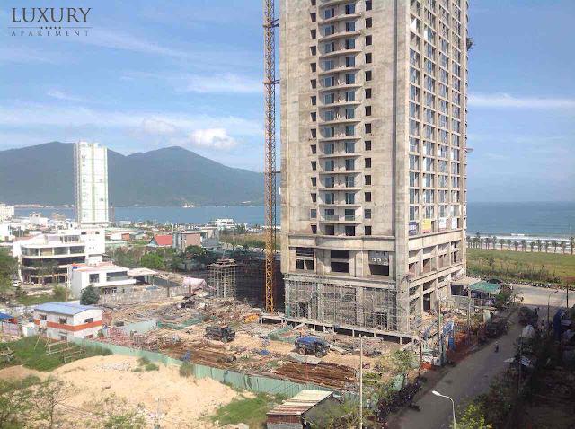 Hình ảnh thực tế dự án Luxury Apartment Đà Nẵng