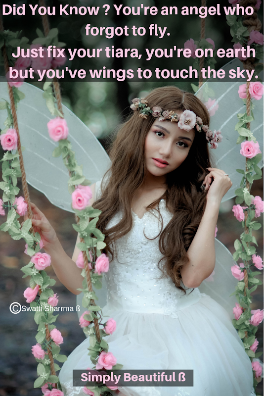 Quotes on angel, love yourself, fly, wings.