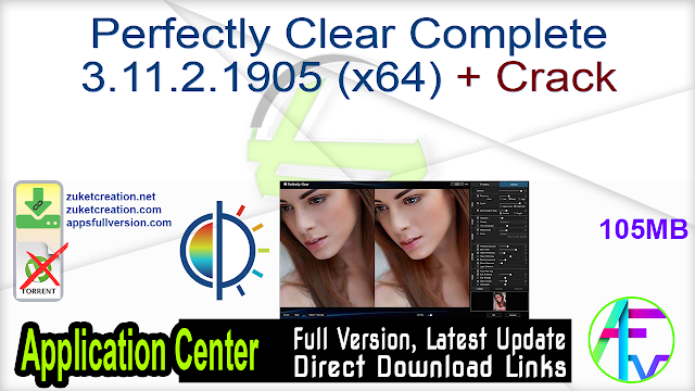 Perfectly Clear Complete 3.11.2.1905 (x64) + Crack