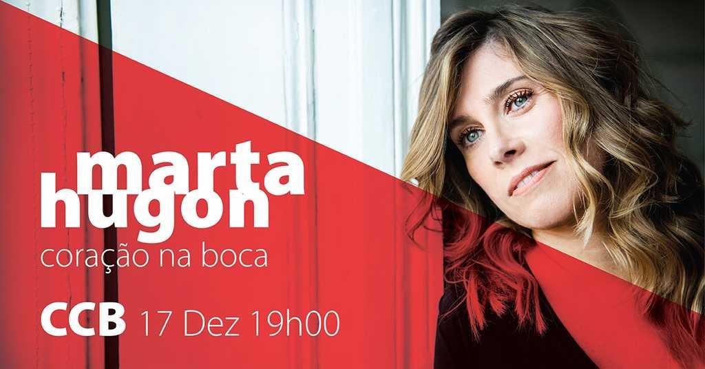 CCB | Marta Hugon apresenta o seu mais recente trabalho, Coração na Boca