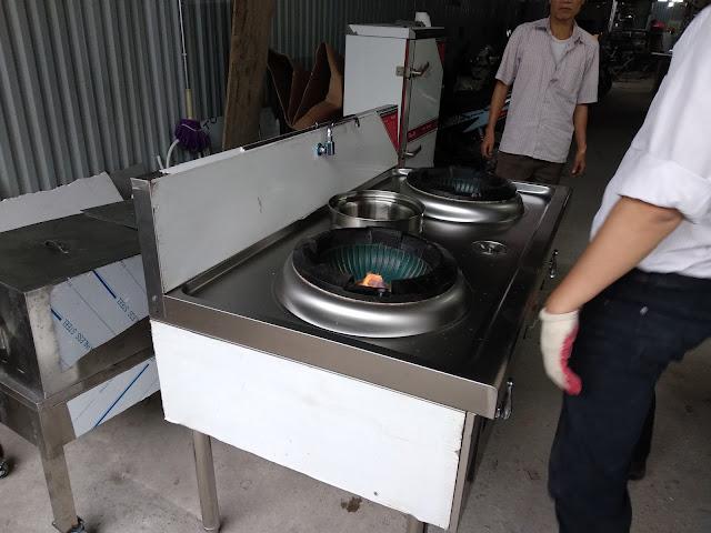 Bếp á quạt thổi 2 họng nấu cao cấp tại Hà Nội