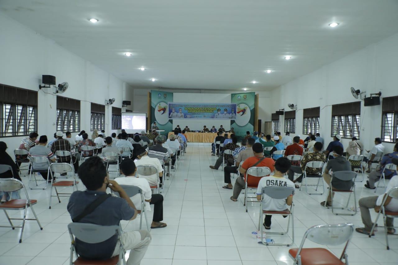 Wakili Bupati Asahan, Edi Sukmana Buka Sosialisasi Tatanan Kehidupan Baru