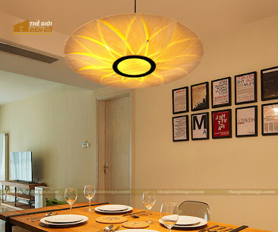 Thế Giới Đèn Gỗ - 8 mẫu đèn trang trí gỗ cho phòng ăn đẹp lung linh 21