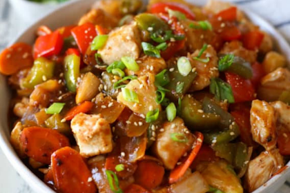 Skillet Sweet and Sour Chicken