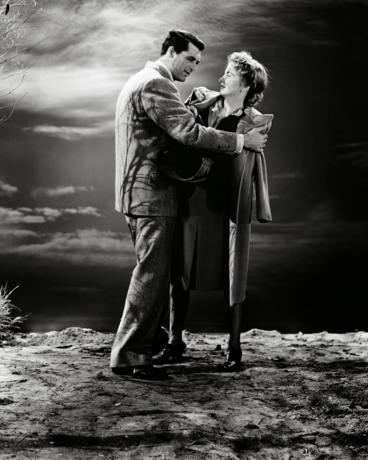 Ο Κάρι Γκραντ και η Τζόαν Φοντέν στο Suspicion