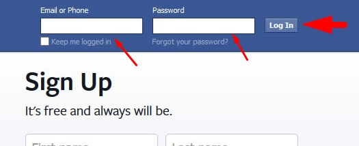 Open My Facebook Account Login