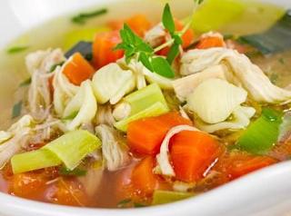 Makanan Khas Indonesia Sup Sayur Ayam