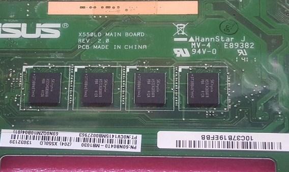 X550LD MB REV2.0 Bios ASUS X550L
