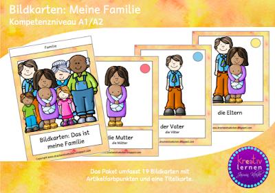 Deutsch lernen, einfach mit Flashcards!