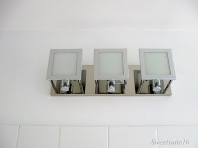 New Bathroom Light Fixture