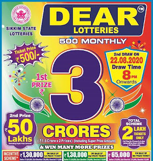 Lottery Sambad Today Results 11:55 am, 4:00 pm, 8:00 pm