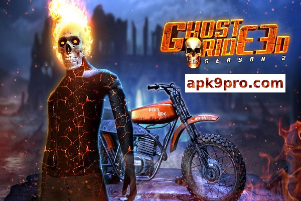 Ghost Ride 3D Season 2 2.0 Apk + Mod (File size 49 MB) for android