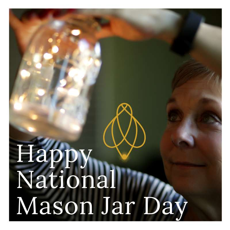 National Mason Jar Day Wishes For Facebook