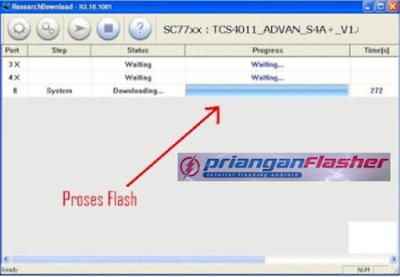 proses flash advan s4f