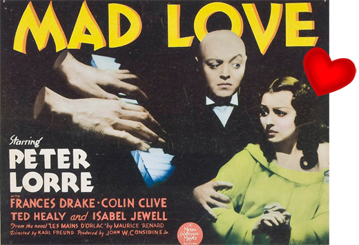 Poster - Mad Love, 1935