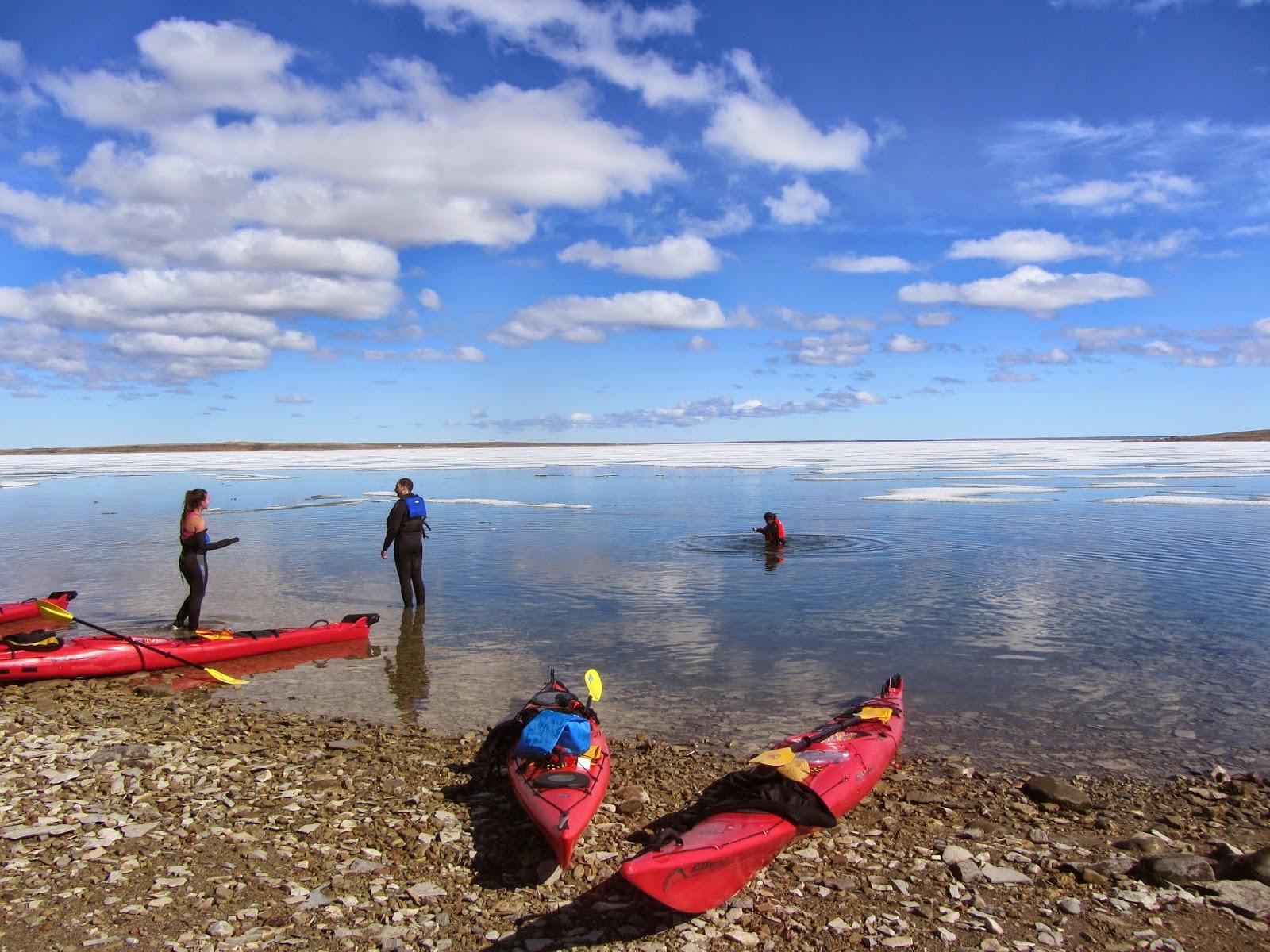 Run, Gloria, Run!: Kayaking Season In Full Swing
