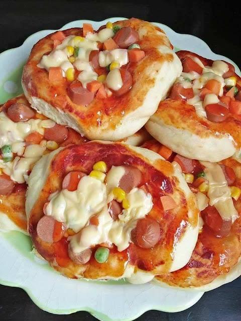 Buat Sendiri Pizza Mini