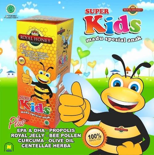 Super madu kids nasa untuk anak