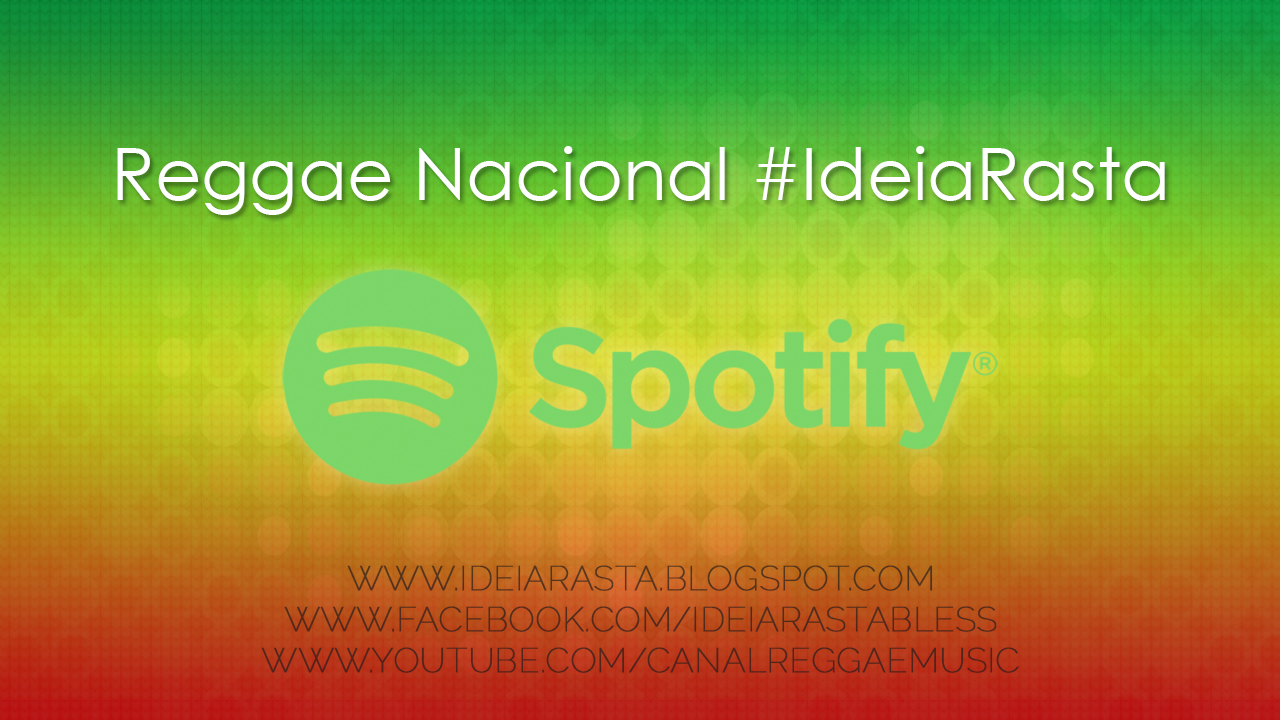 Playlist de reggae nacional e internacional no Spotify