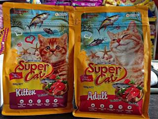 Merk Makanan Kucing yang Bagus dan Murah Super Cat