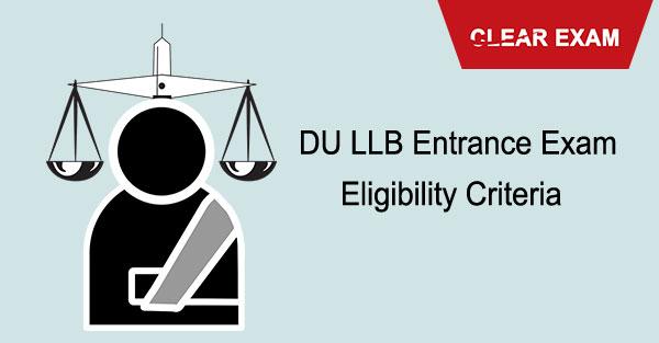 DU LLB Eligibility Criteria