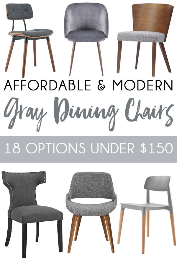 Modern Gray Dining Chairs Lazy Boy Office Affordable And Blue I Style Creating Inexpensive Grey