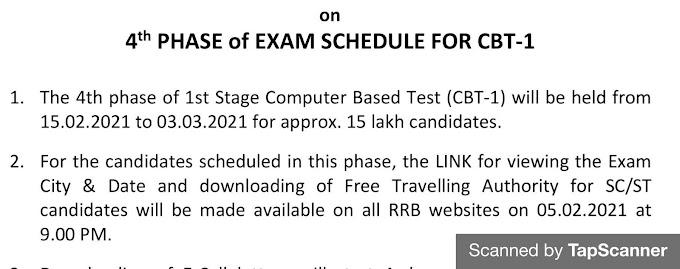 Railway NTPC Admit Card 2021 download, RRB NTPC Exam Date 2020