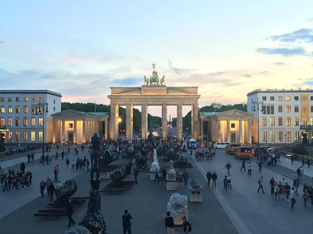 Portão de Brandemburgo, Berlim.