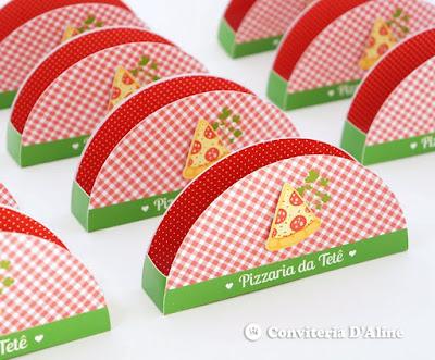 porta guardanapo pizzaria personalizado decoracao festa