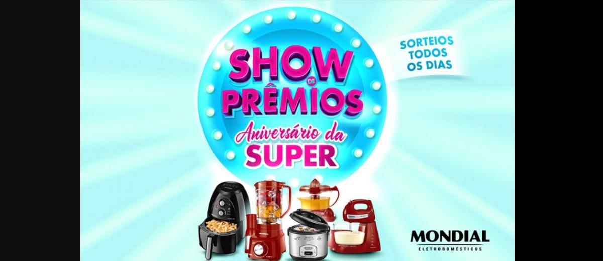 Participar Promoção Aniversário 2020 Rádio FM Super - Show de Prêmios