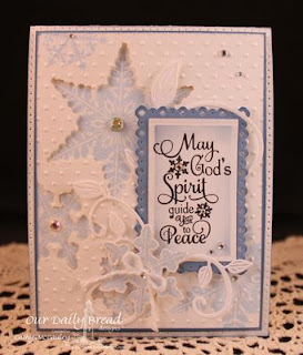 ODBD Products - ODBD Custom Snowflakes Die, Sparkling Snowflakes, Snowflake Sentiments