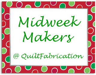 midweek makers in a Christmas border