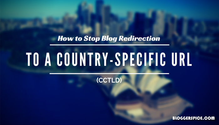 prevent country-specific URL (ccTLD)