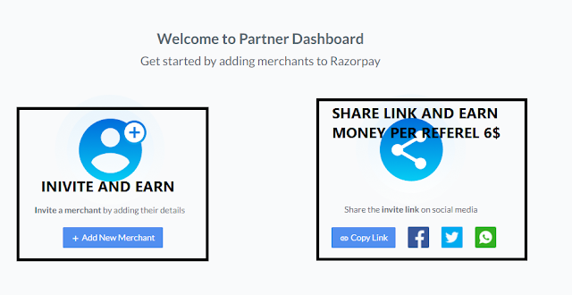 SHARE LINK AND EARN REFEREL